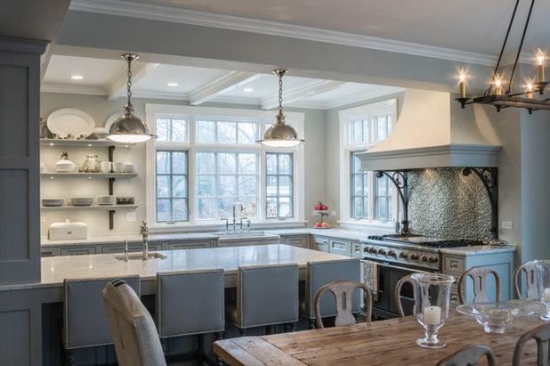Traditional Kitchen by PB Kitchen Design