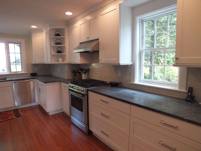 Contemporary Kitchen by Derek Moore and Sons General Contractors