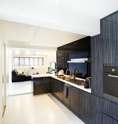 Modern Kitchen by nOtch lifestyle + design pte ltd (singapore)