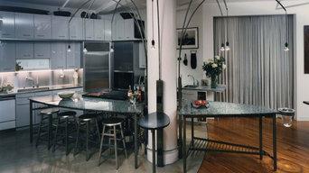 Singer Building Loft Kitchen