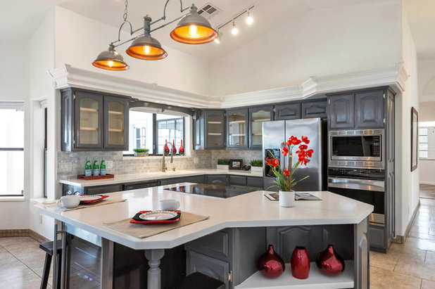 Traditional Kitchen by Lydia Sweetland ThinkSpace Design and Home Staging