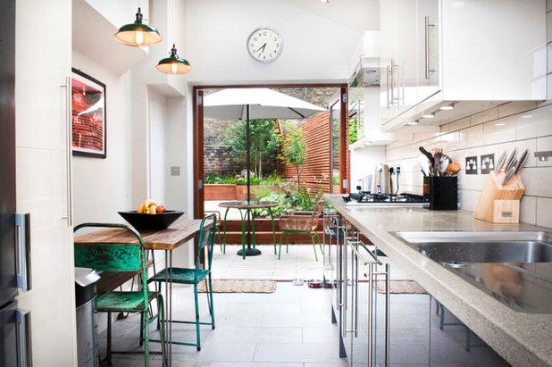 エクレクティック キッチン by Sheldon Peever Studio Ltd