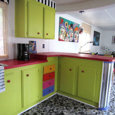 Eclectic Kitchen by Monapaints.com
