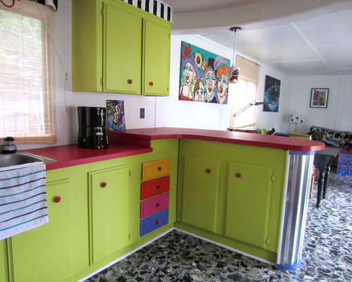 SaveEmail  Monapaints com  2 Reviews  Single wide trailer. Houzz   Single Wide Trailer Kitchen Design Ideas   Remodel Pictures