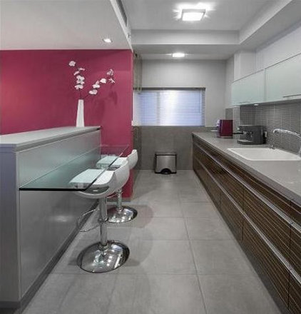 modern kitchen by HILIT