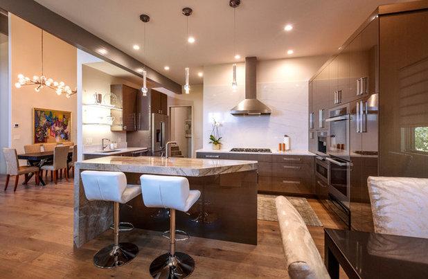 Contemporary Kitchen by Kasia Karska Design
