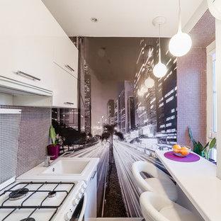 Выдающиеся фото от архитекторов и дизайнеров интерьера: кухня в современном стиле