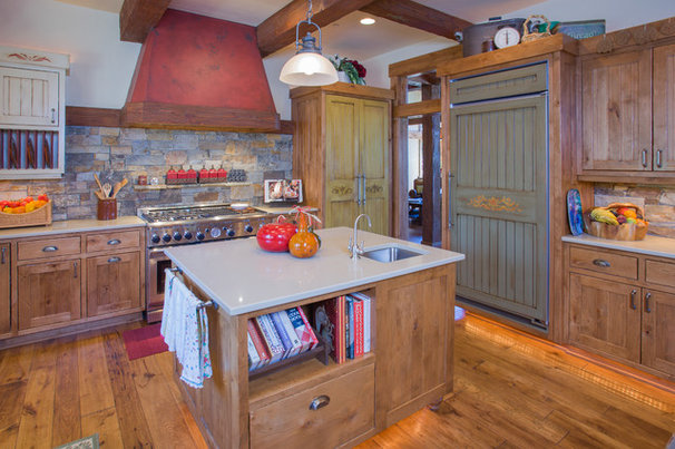 Traditional Kitchen by Norman Building & Design