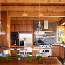 Contemporary Kitchen by Gerber Berend Design Build, Inc.