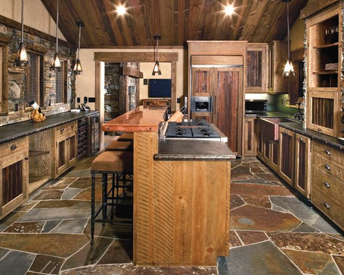 Flagstone Floor Home Design Ideas Pictures Remodel And Decor