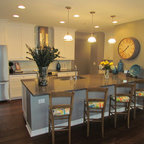 Kitchen Sitting Area Contemporary Kitchen Minneapolis By Mary Hickey Interiors