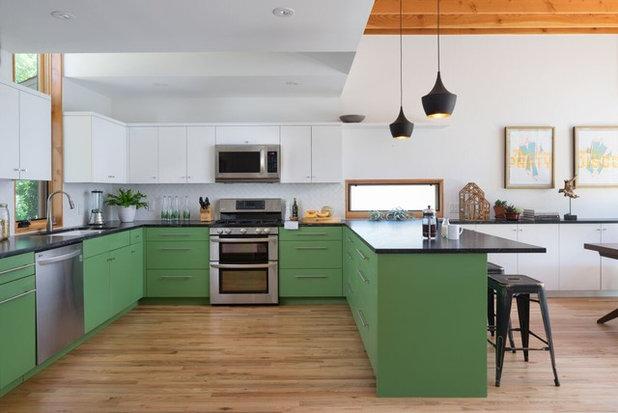 Envie De Verdure Idées Déco Pour Oser Le Vert En Cuisine - Le guide des antiquaires pour idees de deco de cuisine