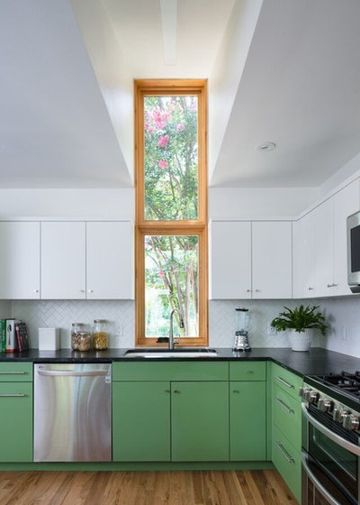 Kitchen by Murray Legge Architecture
