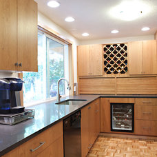 traditional kitchen by Kirk Design and Construction