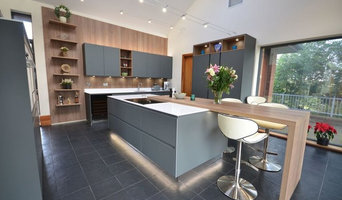 Slate Grey and Elm Kitchen