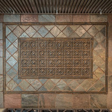 Traditional Kitchen by Art of Tile and Stone