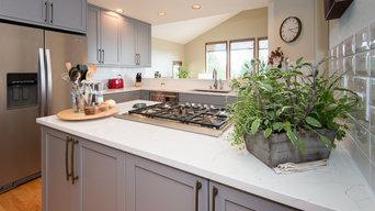 Sleek and Modern Kitchen Remodel in Bellevue