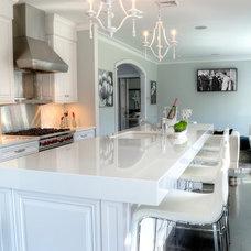 Transitional Kitchen by Showcase Kitchen & Bath