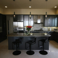 contemporary kitchen by Amy Newman Lauffer, CID, LEED AP