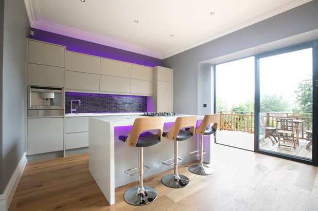 Contemporary Kitchen by Number Eighty One
