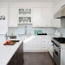 Transitional Kitchen by JACK ROSEN CUSTOM KITCHENS