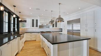 Sleek White Modern Kitchen