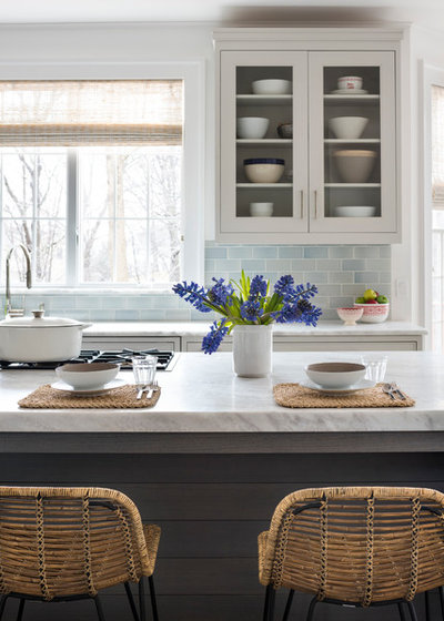 Transitional Kitchen by Studio Dearborn