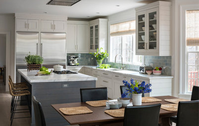 Kitchen of the Week: White and Gray and Storage-Packed