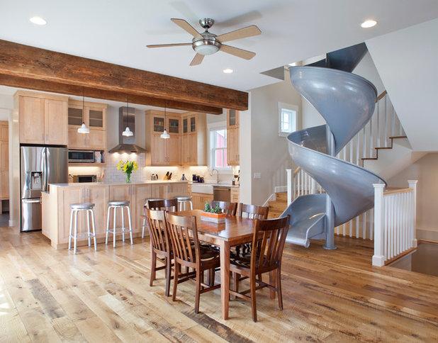 Современная классика Кухня by Coburn Design Build