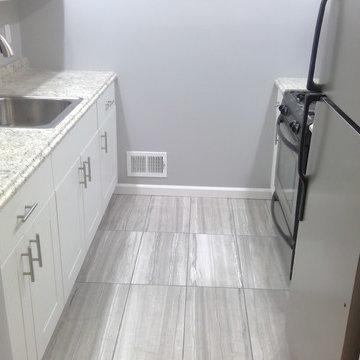 Small, 8' X 8' Kitchen renovation.