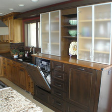 Traditional Kitchen by Gary Douglas; Kitchens at the Denver