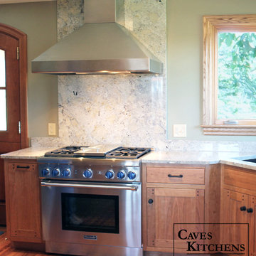 Small Arts & Crafts Style Kitchens