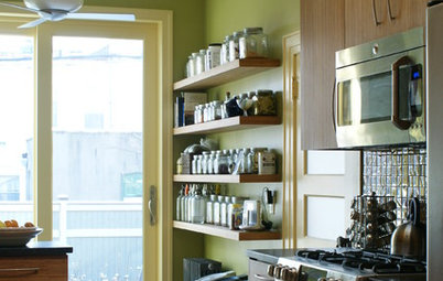 8 Ideas For Immaculate Open Shelving