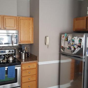 Small Cabinet Refinishing Job