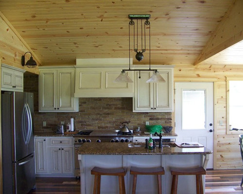 Small Country Kitchen Home Design Ideas, Pictures, Remodel ...