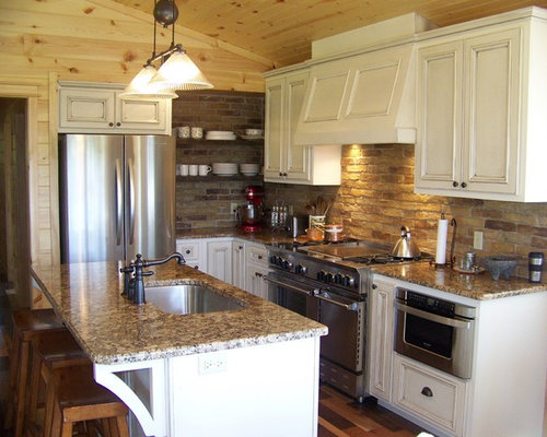 Small Country Kitchen Home Design Ideas Pictures Remodel And Decor