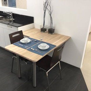Small Dining Solution: Heart Ash White Wash