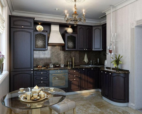 Small Kitchen Design Ideas Remodels Photos with Colored