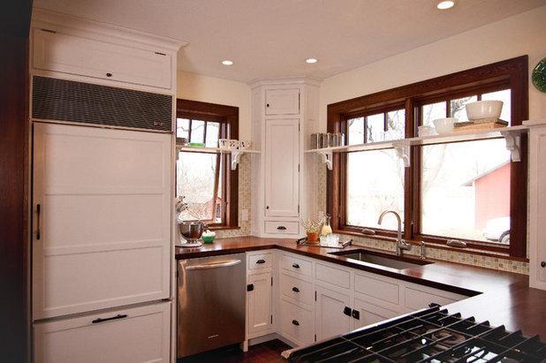 Farmhouse Kitchen by Traditional Cabinetry LLC