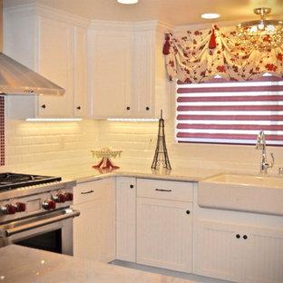 Small French Country Kitchen Remodel - San Diego California, DezinerTonie