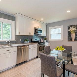 . 75 Beautiful Transitional Linoleum Floor Kitchen Pictures   Ideas