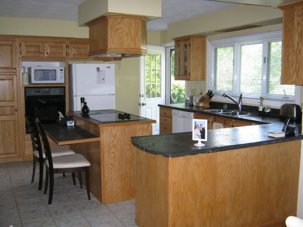 Traditional Kitchen Small Kitchen Before/Afters
