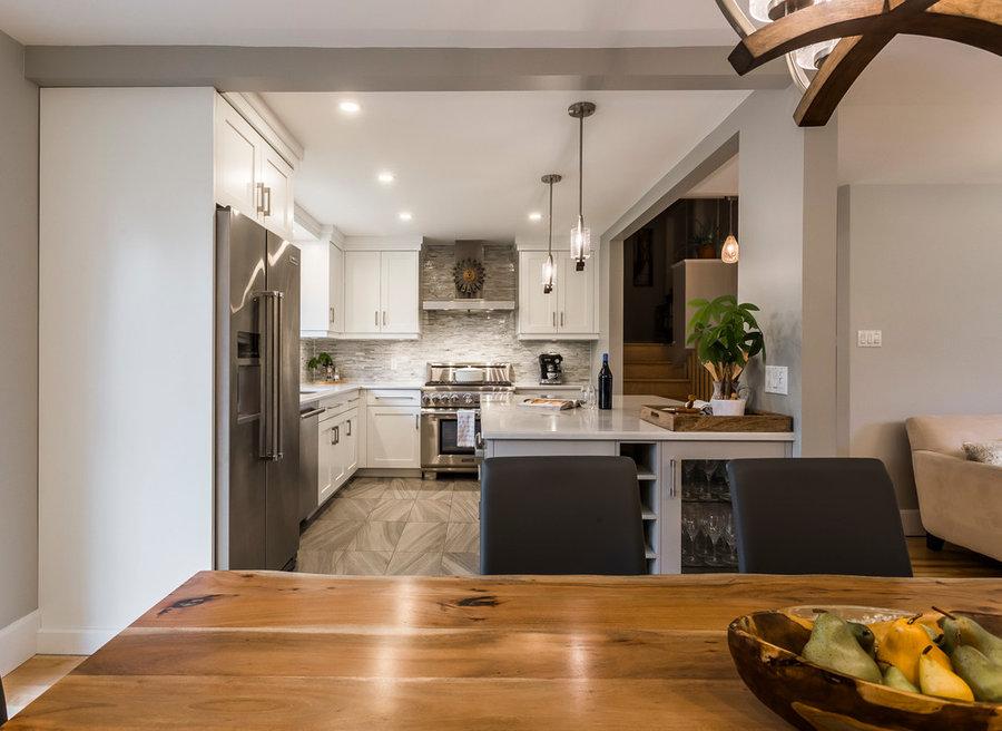 Small kitchen - Big Island