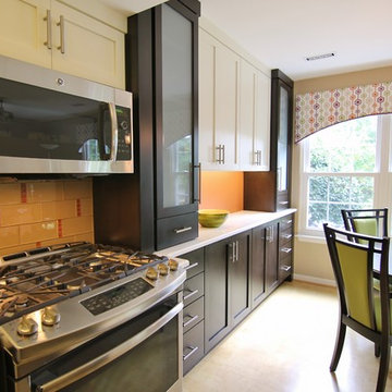 Small Kitchen - Big Results in a Townhouse