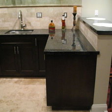 Eclectic Kitchen by Construction Owl