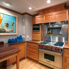 Contemporary Kitchen by Essential Home Artisans Design Center