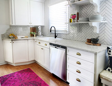 Small Kitchen Makeover with The Hunted Interior