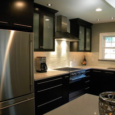 Contemporary Kitchen by rZ Designs for Living