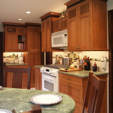 Traditional Kitchen Small Kitchen Remodel - Arts & Crafts Style