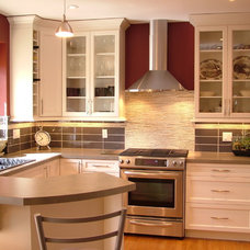 Contemporary Kitchen by Rochelle Lynne Design
